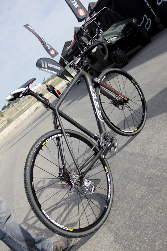 Felt showed a prototype of their new FX frame equipped with the new TRP disc