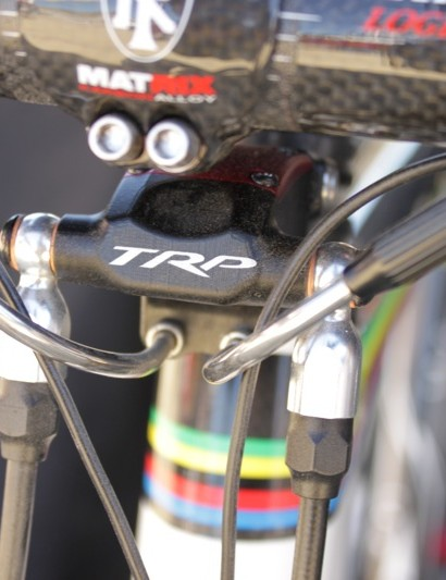 TRP's new Parabox cyclo-cross specific disc brake