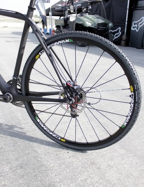 For now, it looks as though manufacturers are settling on 135mm rear spacing for disc equipped cyclo-cross bikes