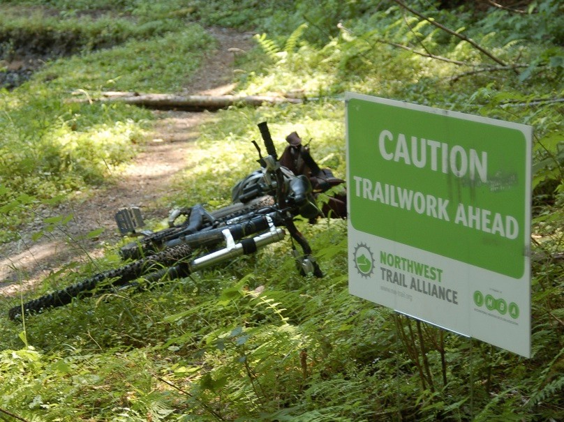 Mountain bikers are an untapped resource for land managers; the Northwest Trail Alliance is a mountain bike club that does frequent trail work in Portland and surrounding areas
