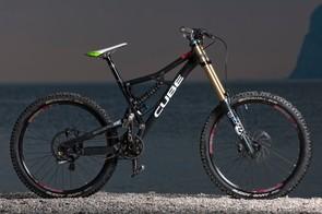 Cube Two15 downhill bike