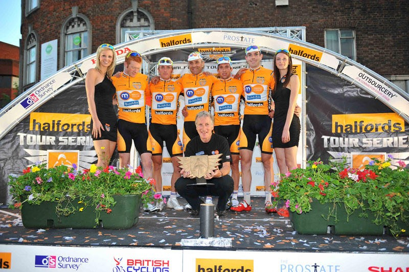 The 2010 Halfords Tour Series was won by Motorpoint-Marshalls Pasta