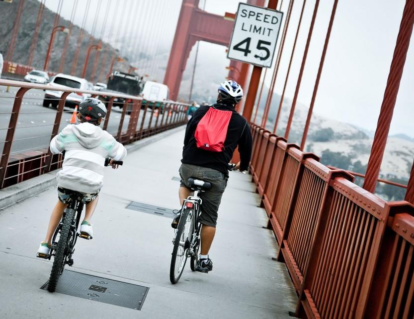 Bridge officials propose a 10mph speed limit for bikes on the Golden Gate Bridge