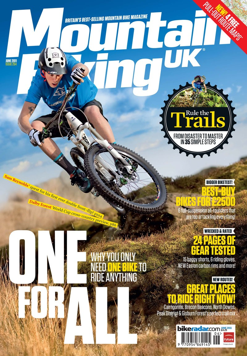 The new look Mountain Biking UK is on sale from today