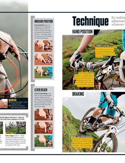 The new 'MBUK manual' section is full of practical advice for all mountain bikers