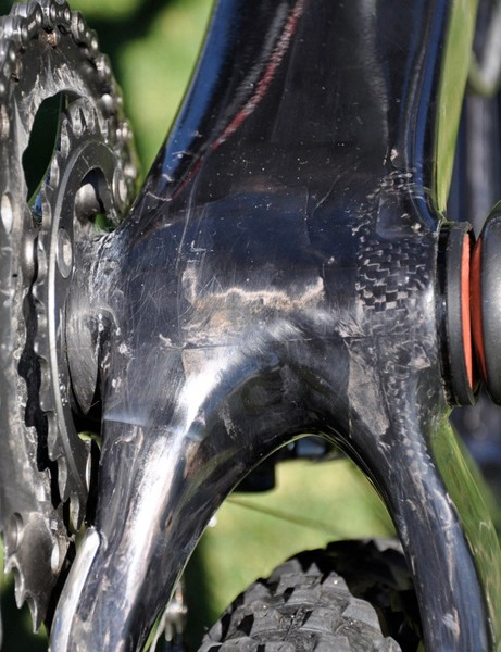 Giant's new XtC Composite 29 will feature a press-fit bottom bracket shell