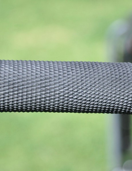 : Opting for a little less weight than a lock-on style grip, Decker runs ODI Ruffian grips with the flanges removed and moto-style wires to keep them tight