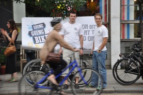 James Johnson and Andrew Nethercot of Going Going Bike