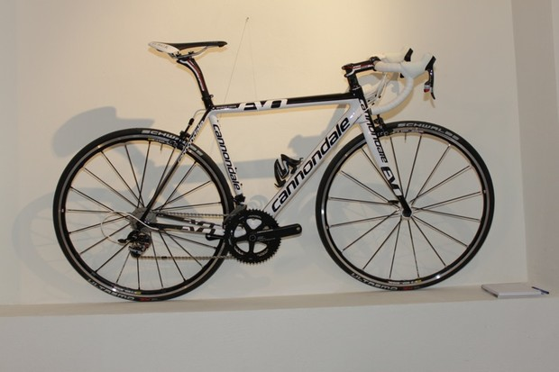 Cannondale's new SuperSix EVO dressed specially for the launch