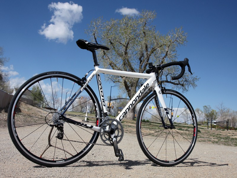 1bacbb3fa60 The Cannondale CAAD10 4 Rival offers an astounding amount of performance  for the money and buyers