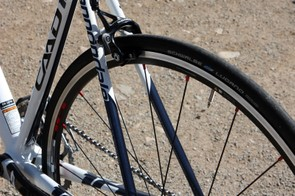 The seat stays take a relatively direct path from top to bottom