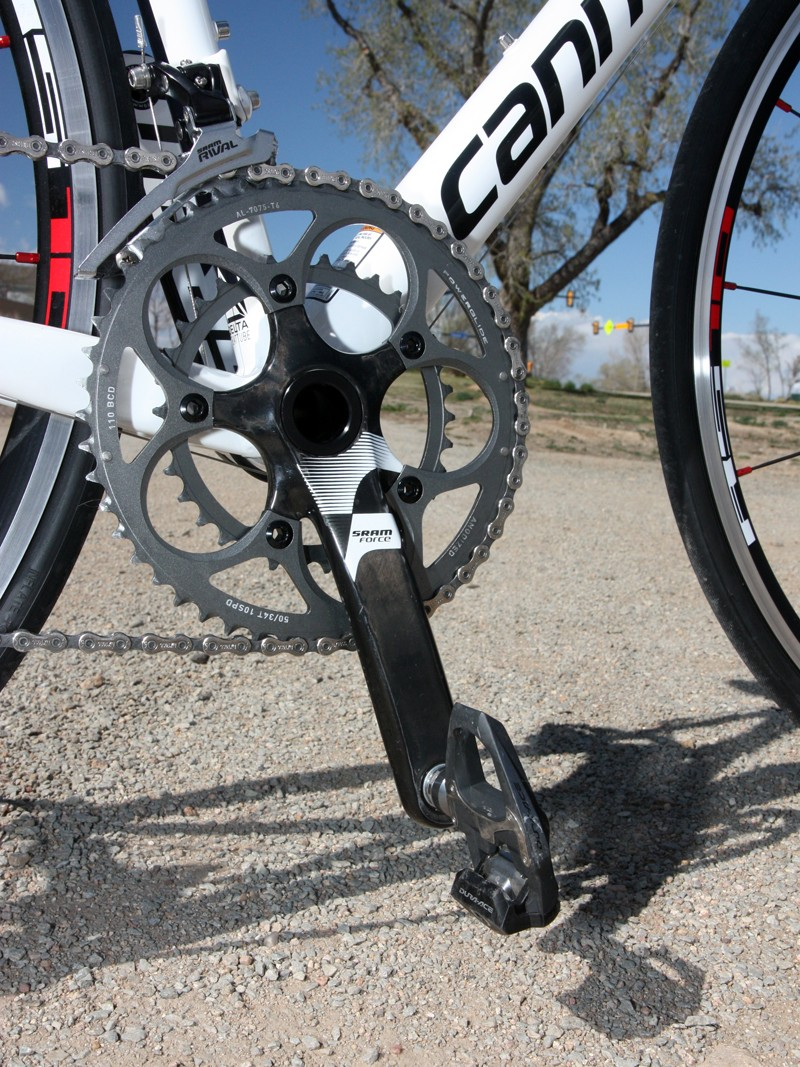 a3a91640bc7 SRAM doesn't offer a BB30 version of its Rival crank so Cannondale has  upgraded