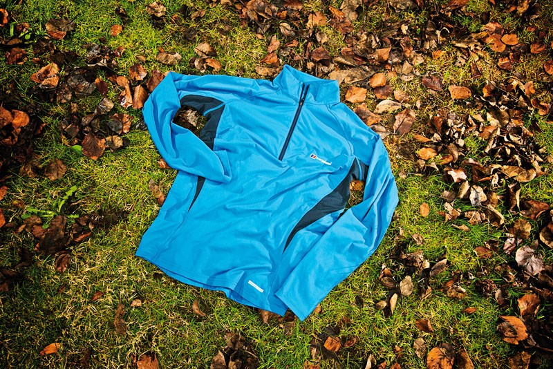Berghaus Technical LS Zip long-sleeved jersey