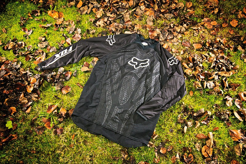 Fox Blackout long-sleeved jersey