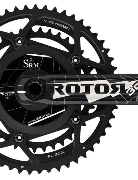 According to SRM, Rotor 3D and 3D+-based powermeters are now available. Current Rotor 3D and 3D+ crank owners can send their cranks in for retrofit