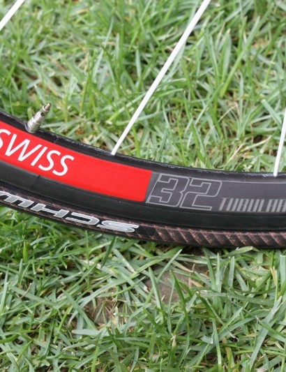 The EVO Ultimate 10.93lb bike features DT Swiss's 32mm tubular wheelset
