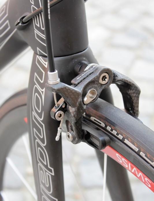 Ted Ciamillo's carbon Gravitas brake