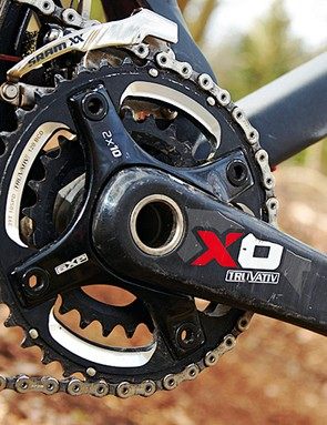 A whole host of SRAM X.0 kit is a bonus on the Pivot