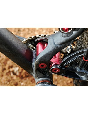 Out back, the DW Link system handles suspension duties