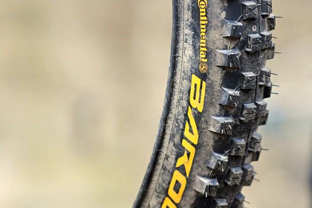 Continental Baron 2.3 folding tyres