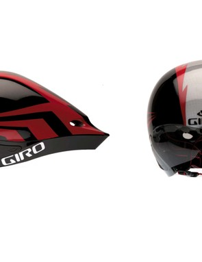 The included eye shield is vented to prevent fogging and the vents are also aligned with the internal channels to help facilitate airflow across a rider's head.