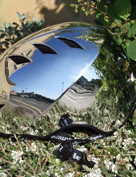HardnutZ Cycle Street Auto Chrome helmet