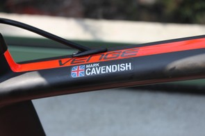 Cavendish was one of the first riders on the new Venge bike