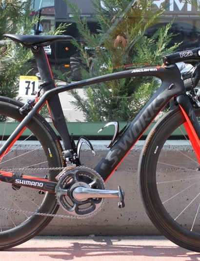 Mark Cavendish's purpose built HTC Specialized McLaren Venge