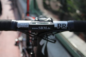 Cavendish records the day's effort on SRM's Power Control 7 computer