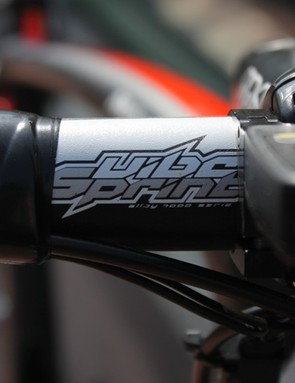 PRO's Vibe Sprint handlebar is very stiff but not all that light