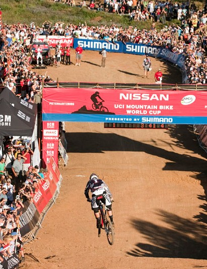 Three-times Downhill World Cup champ, Greg is looking forward to 2011's  South African round