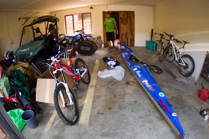 What would you give for a collection of  boy's toys like these  in Greg's garage!
