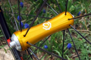 The front hub is especially sleek