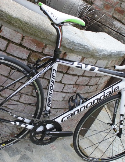 Our Cannondale SuperSix Evo test bike