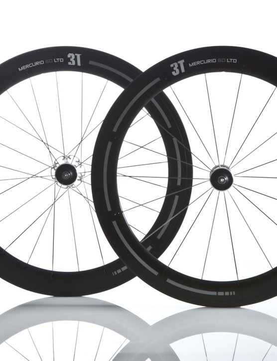 3T introduced two new road wheel lines at the Giro d'Italia, including the top-end Mercurio LTD 60 carbon tubulars