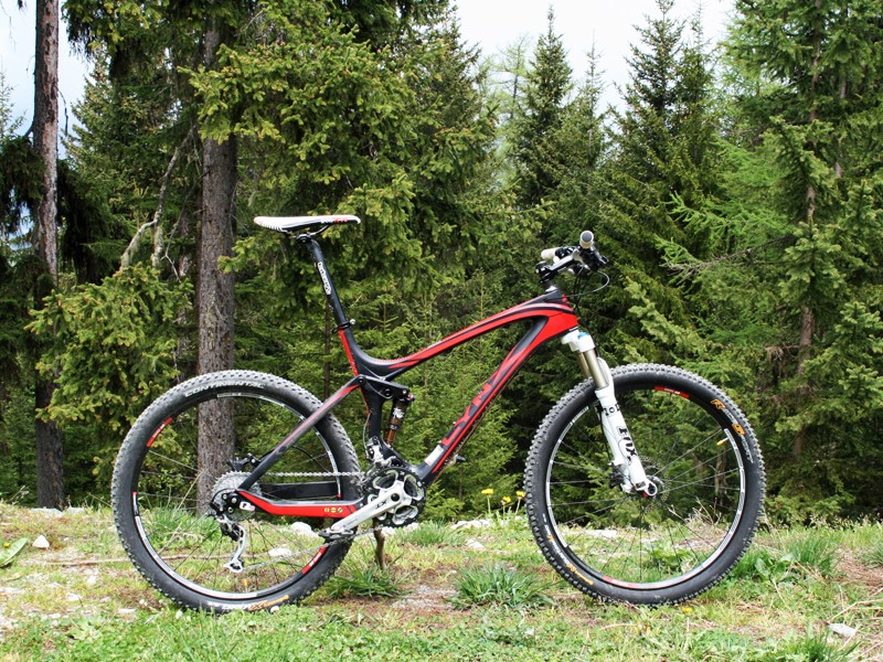 The Lynx 4 is the first of BH's 2012 full-suspension bikes to be unveiled; a longer-travel version is in the pipeline