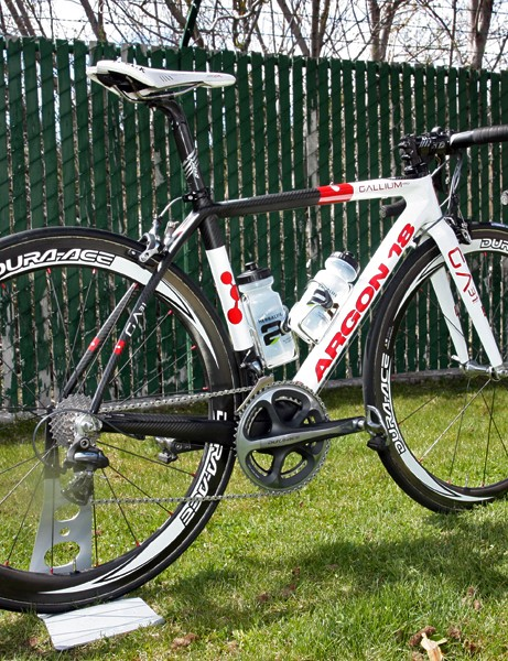 Canada-based Team SpiderTech p/b C10 keeps things in the family with its selection of Argon 18 for its team bikes.