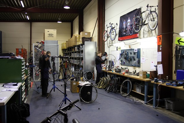 BMC employ just one full-time service course mechanic but all of the mechanics pitch in from time to time depending on what needs to get done