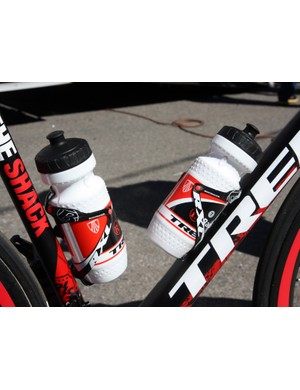 Trek's Bontrager parts and accessories division also supplies the team with bottle and cages.
