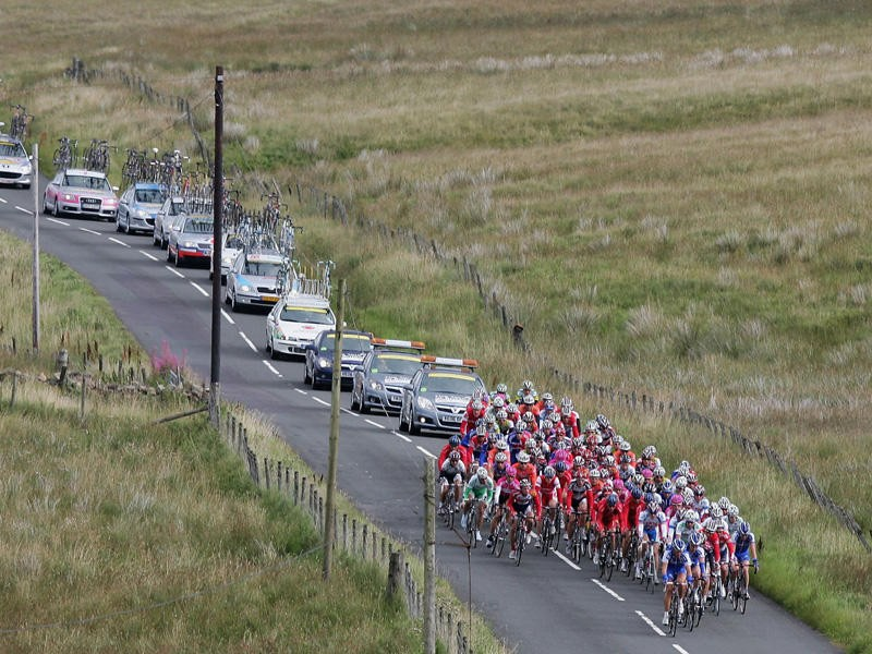 The closed-road Etape Caledonia has a history of attempted sabotage