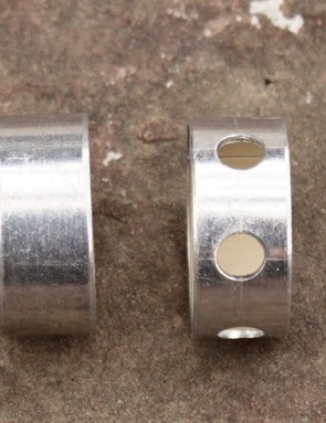 Reba will continue to use the solid bushings, while all SID models sport the drilled version