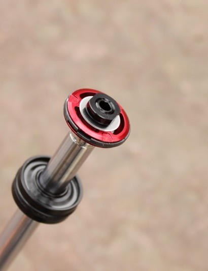 The dual flow rebound piston