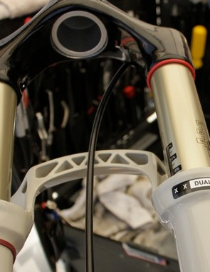 The Subaru-Trek team is riding the new SID now, but not the World Cup carbon version yet