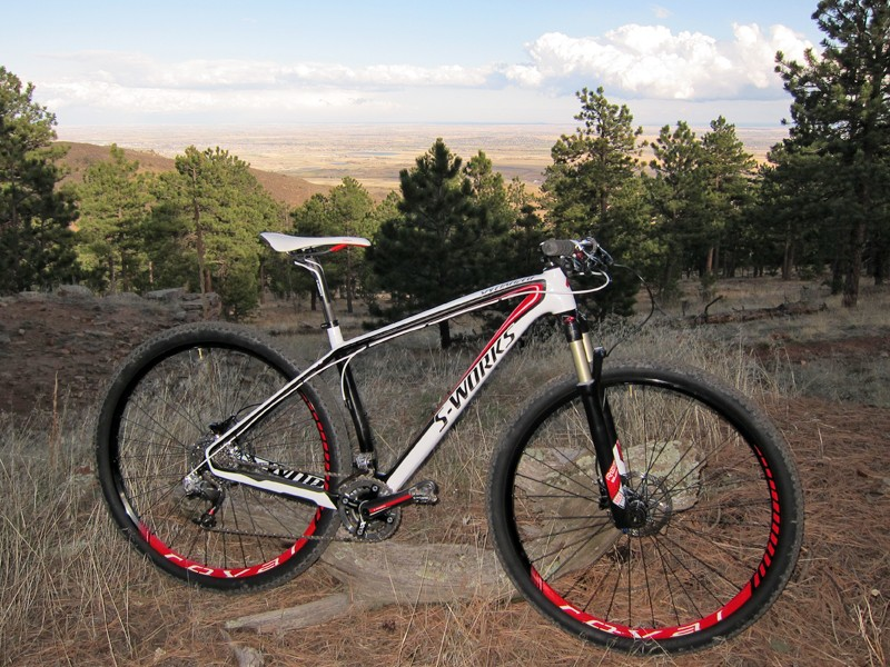 The Specialized S-Works Stumpjumper 29er is a race bike through and through, featuring ultralight weight and lightning-quick reflexes