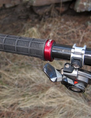 Specialized's own lock-on grips offer a secure purchase on the bars but not much padding
