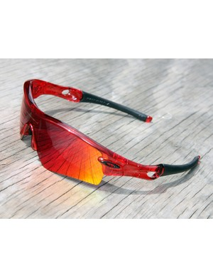 Oakley unveiled a new 'crystal red' color option for their versatile Radar model