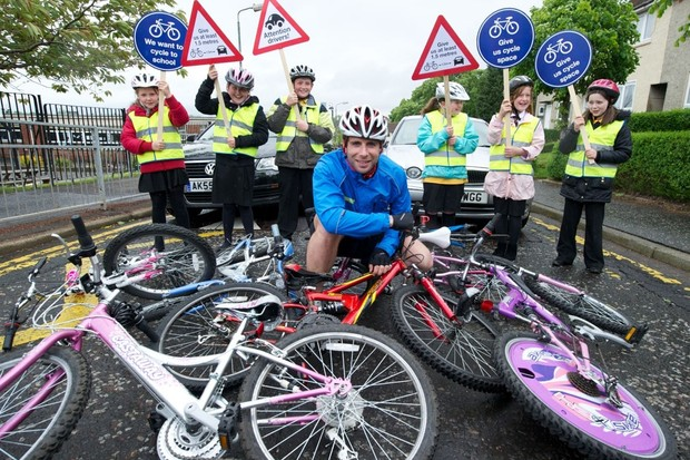 Mark Beaumont launches the Give Me Cycle Space campaign