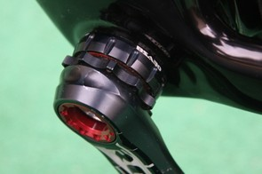 Rotor's BSA30 cups allow the 30mm-diameter spindle to work in the Cervelo S3's standard threaded bottom bracket shell