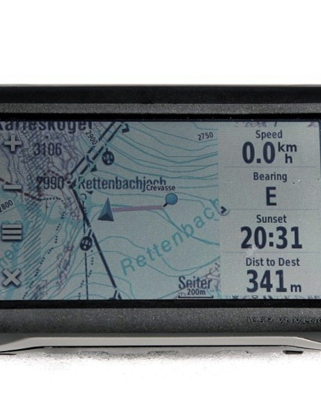 Garmin's Montana GPS is a little bulky for bike use but has genuinely usable off-road mapping