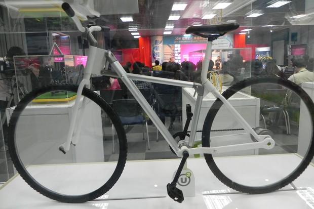 Heath Reed's 'U3' folding bike design